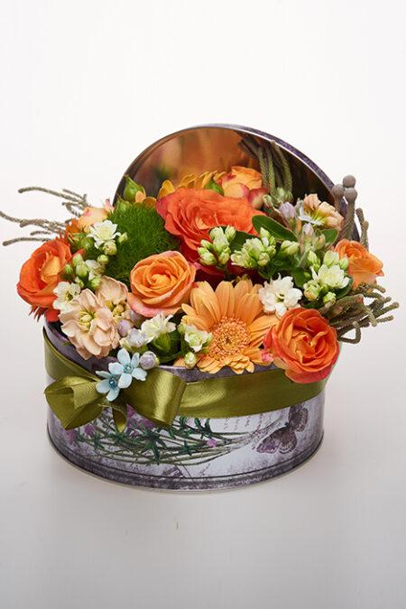 Aranjament floral - O gradină de flori