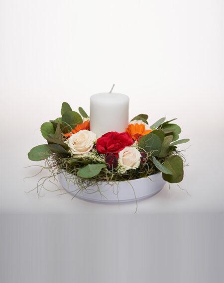 Aranjament floral - Midnight roses