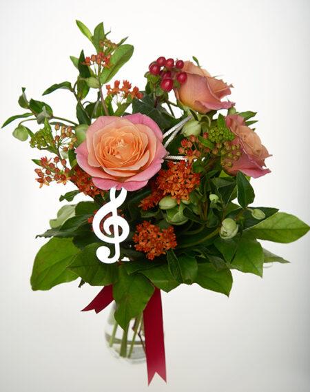 Buchet de flori - Sunetul Muzicii