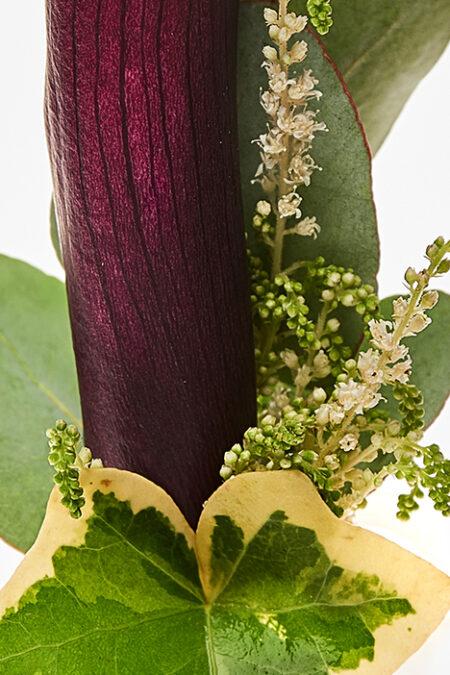 Love story - Floare de piept (cocarda)