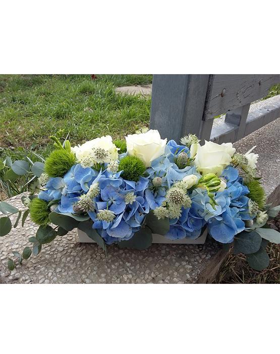Aranjament floral - Hortensia Bleo