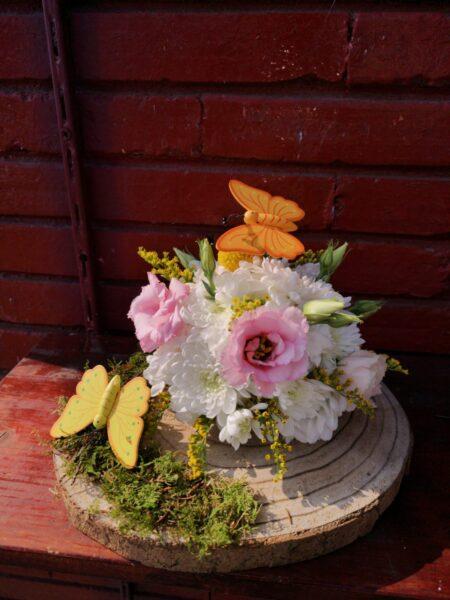 Aranjament floral - Fluturas