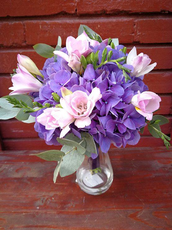 Aranjament Floral - Purple Hortensia