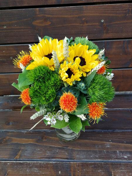Aranjament Floral - Floarea Soarelui