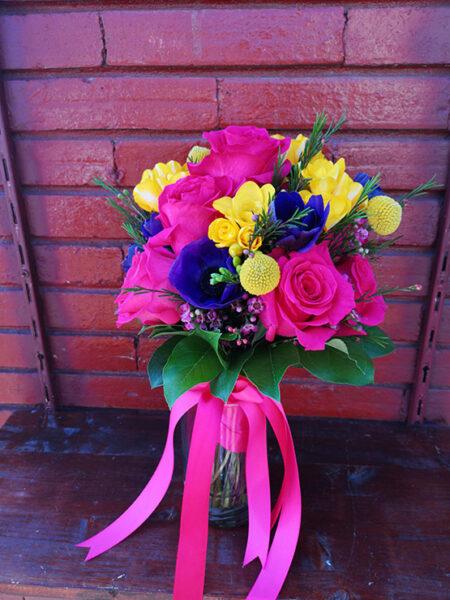 Aranjament floral - Craspedia