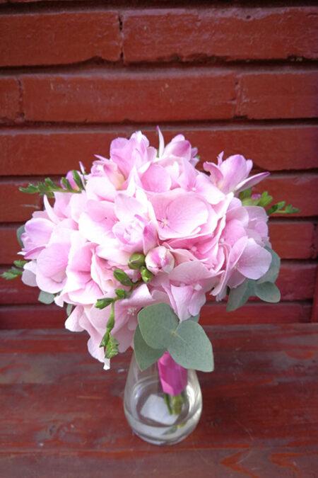 Aranjament floral - Pink Hortensia